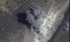Video: Kā Krievijas iznīcinātāji bombardēja Sīrijas nemiernieku pazemes bunkuru