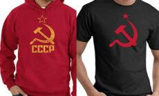 Pēc Baltijas valstu iebildumiem 'Walmart' no tirdzniecības izņēmis krekliņus ar PSRS simboliku