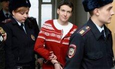 Kalniete: Krievijas tiesa verdiktu par Savčenko balstījusi uz safabricētām apsūdzībām