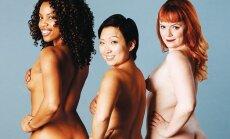 Drosmīgi: Kaili cilvēki demonstrē savu ķermeņu atšķirības