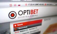 Sporta spēļu totalizatora 'Optibet' peļņa pērn divkāršojās - līdz sešiem miljoniem eiro