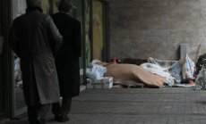 Rīgas naktspatversmēs nedaudz palielinājies cilvēku skaits, bet vietas joprojām ir brīvas
