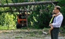 Foto: Amerikāņi atkopjas pēc orkāna 'Hermīne' plosīšanās Floridā