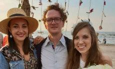 Saskanīgākais pašmāju mūziķu pāris sirsnīgi nosvin desmito kāzu gadadienu