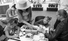Aicina bērnus piedalīties bezmaksas radošajās darbnīcās kopā ar īstiem māksliniekiem