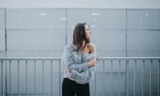 Stila idejas: lielie džemperi – aktualitāte, kam grūti pretoties