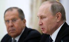 Tikai Putins var izbeigt konfliktu Donbasā, norāda Groismans