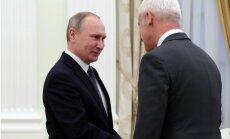 Putins ticies ar VW koncerna vadītāju