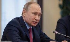 Putina mērķis ir radīt eroziju visās Eiropas institūcijās, uzsver Zīle