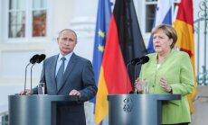 Правительство ФРГ выступило против предложения Путина по Сирии