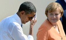 ASV specdienesti Merkeli izspiego jau 11 gadus, vēsta 'Der Spiegel'