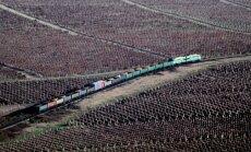 Ukraina aptur dzelzceļa satiksmi ar okupēto Krimu