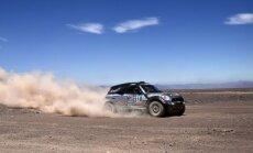 Krievija 'pierakstās' Dakaras rallija uzvarētāju sarakstā