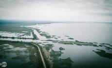 Lubāna ezera Ziemeļu dambī novērsta avārijas situācija