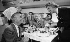 Ceļojums laikā: Cik smalks piedzīvojums bija lidojums pagājušā gadsimta vidū
