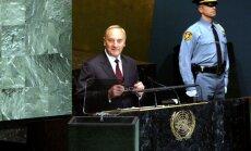 Bērziņš uzrunā ANO: Latvija ir kļuvusi stiprāka