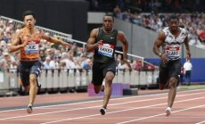 ASV sprinteris Beikers labo šīs sezonas rekordu 100 metru skrējienā
