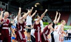 Janičenoks mača galotnē izrauj Latvijai uzvaru pār Melnkalni