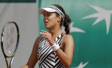 На Открытом чемпионате Франции ракетку зачехлила красавица Иванович