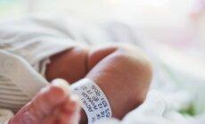 Šogad piedzimuši par 365 bērniem mazāk nekā pērn pirmajā ceturksnī