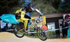 BMX riteņbraucēji Krīgers un Treimanis apstājas Pasaules kausa posma pusfinālā