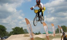 'SMScredit.lv BMX čempionāta' Valmieras posms pulcē dalībnieku rekordskaitu