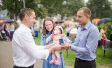 Elza, Dominiks, Eduards un Tomass - šogad populārākie jaundzimušajiem doties vārdi Siguldas pusē