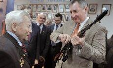 Krievijas vicepremjers Rogozins nejauši iešāvis sev kājā