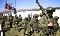 Ukrainas robežu šķērsojuši 700 Krievijas karavīri, ziņo Kijeva