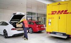 'Amazon' preces piegādās pa taisno 'Audi' bagāžniekā