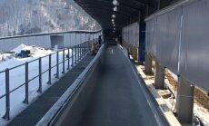 Oktobrī otrreiz mēģinās pārbaudīt Phjončhanas olimpisko bobsleja trasi