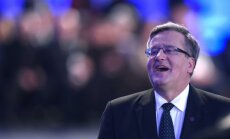 Polijas prezidents Komorovskis uz Maskavu 9.maijā nedosies