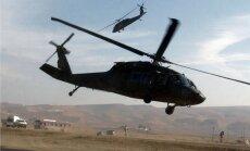 Irākā, avarējot ASV helikopteram, miruši septiņi karavīri