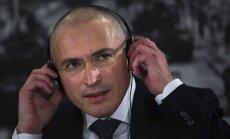 Hodorkovskim piešķirta Šveices vīza