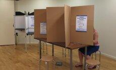 Vēlēšanās piedalījušies 30,03% balsstiesīgo