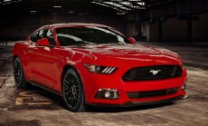 Izstādē 'Auto 2016' – no praktiskā 'Hyundai i20' līdz muskuļotajam 'Ford Mustang'