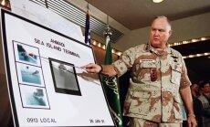 Miris militārās operācijas 'Tuksneša vētra' komandieris