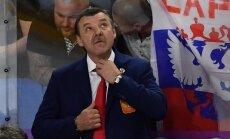 Znaroku nesatrauc Krievijas hokeja izlases startēšana zem olimpiskā karoga