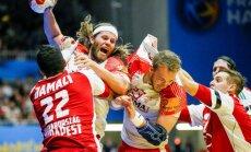 Olimpiskie čempioni Dānijas handbolisti netiek pasaules čempionāta ceturtdaļfinālā