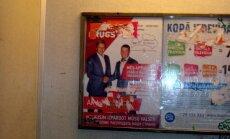 Zolitūdē politiķi reklamējas arī vēlēšanu dienā