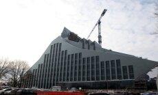 Dombrovskis priecīgs par Nacionālās bibliotēkas būvdarbu kontroli