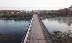 Video: Miglas ieskautā Jēkabpils no drona skatpunkta