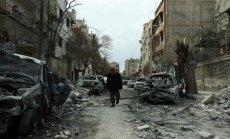 Sīrijas nemiernieku anklāvā vardarbība mazinājusies, pauž aktīvisti