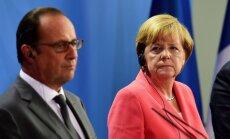 Франция и Германия выступят с инициативой по реформированию Евросоюза