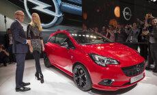 Francijas autoražotājs PSA pārņem 'Opel'