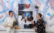 Foto: Somijas laikmetīgās mākslas izstādes 'Plūstošā daba' atklāšana