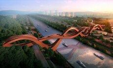 ФОТО: В Китае построили грандиозный мост в виде ленты Мебиуса