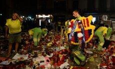 Spānijā nokopj terorakta piemiņas vietu; mantas un zīmītes nogādās muzejā