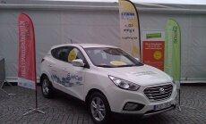 Pirmoreiz Latvijā prezentēs ar ūdeņradi darbināmus auto