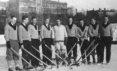 Latvijas sporta vēsture: Hokeja izlases karognesējam Augustam Ozolam – 110